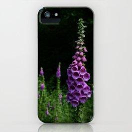 Foxglove iPhone Case