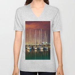 Barcelona Yacht Club Unisex V-Neck