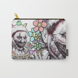 xoxo Twisty (color) Carry-All Pouch