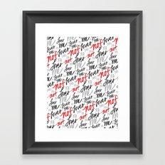 Loves Me... Framed Art Print