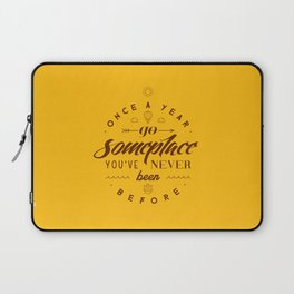 Once a year Laptop Sleeve