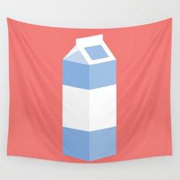 #90 Milk Carton Wall Tapestry
