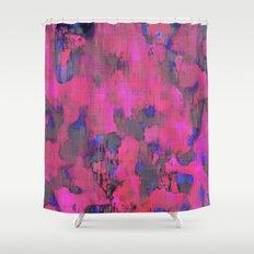 Lysergic Pink Shower Curtain