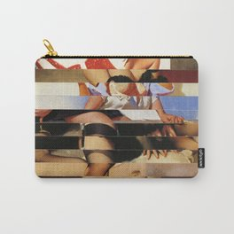 Glitch Pin-Up Redux: Daisy Carry-All Pouch