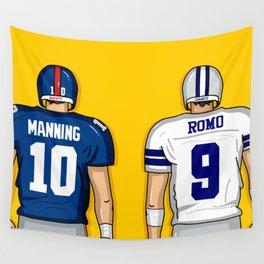 E. Manning vs Romo Wall Tapestry