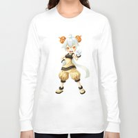 pumpkin Long Sleeve T-shirts featuring Pumpkin by Freeminds