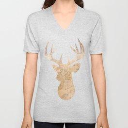Modern deer Unisex V-Neck