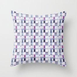 Uvas-Cuadricula  Throw Pillow