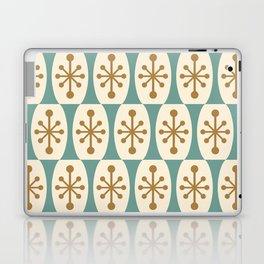 Mid Century Modern Atomic Fusion Pattern 101 Laptop & iPad Skin