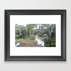 Wimmera River Framed Art Print