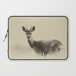 Vintage Roe Deer Laptop Sleeve