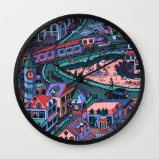 Loch Tess Wall Clock