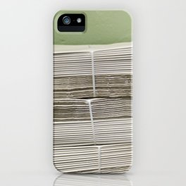 Papers iPhone Case