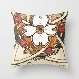 Wheel of Fortune Throw Pillow