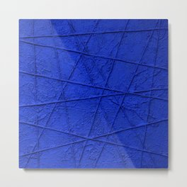 All Blue Metal Print
