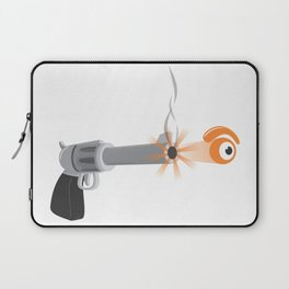 bullet eye Laptop Sleeve