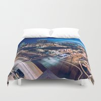 tapestry Duvet Covers featuring Tapestry by jmdphoto