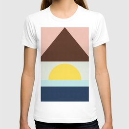 Modern and geometric art XV T-shirt