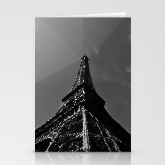 Colliding times Stationery Cards
