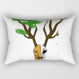 Glorious deer Rectangular Pillow