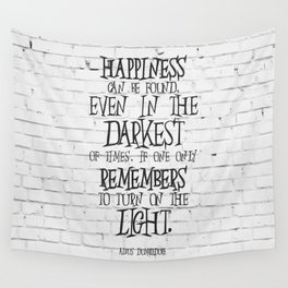 Albus Dumbledore Quote Inspirational Wall Tapestry