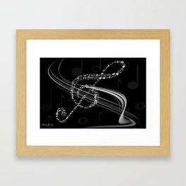 DT MUSIC 8 Framed Art Print