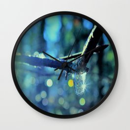 lost leafe Wall Clock
