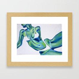 Ocean skin Framed Art Print
