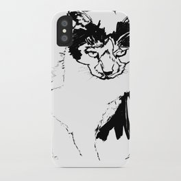 Kitty Knows iPhone Case