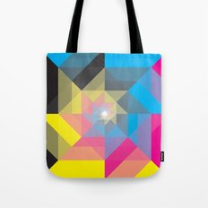 CMYK Triangles  Tote Bag