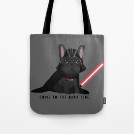 French Baconator Dark Side Tote Bag
