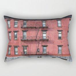 NY Red Brick Rectangular Pillow