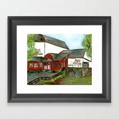 Bucks County Playhouse Framed Art Print