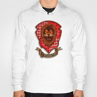 gryffindor Hoodies featuring Gryffindor shield emblem by JanaProject