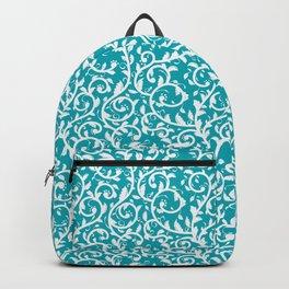Ornamental Foliage - Aqua Color Backpack