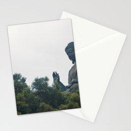 Tian Tan Buddha. Stationery Cards