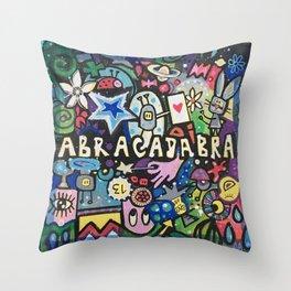 abracadabra Throw Pillow