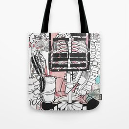 Broken Parts Tote Bag
