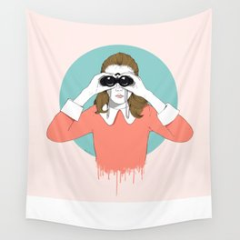 Suzy Moonrise Kingdom  Wall Tapestry
