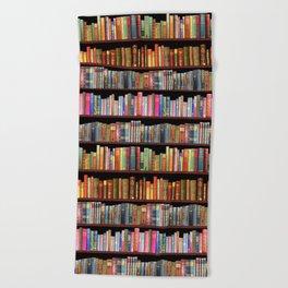 Vintage books ft Jane Austen & more Beach Towel