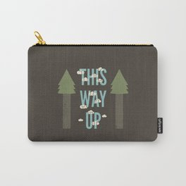 This Way Up Carry-All Pouch