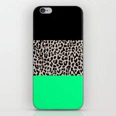 Leopard National Flag XIII iPhone Skin