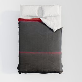 1957 Light Red Over Black by Mark Rothko HD Comforters