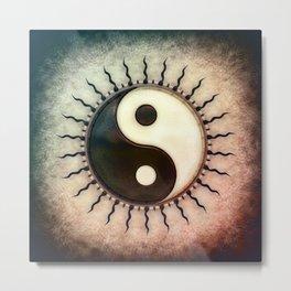 Yin Yang - Sun I Metal Print