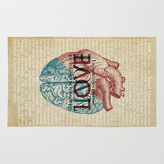 Love is...heart and reason Rug