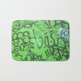 New Orleans Graffitti Bath Mat