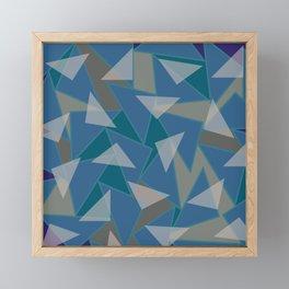 Broken Glass Framed Mini Art Print