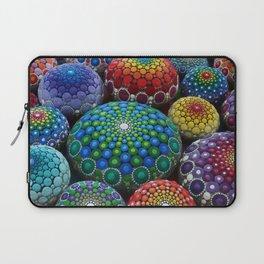 Jewel Drop Mandala Stone Collection #1 Laptop Sleeve