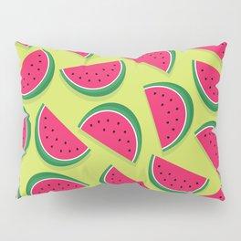 Juicy Watermelon Slices Pillow Sham