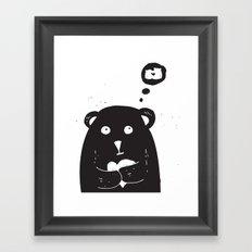 What love is Framed Art Print